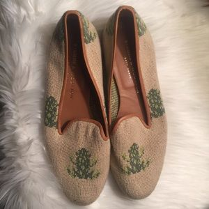 Stubbs and Wootton Palm Beach Frog Slip On 9.5